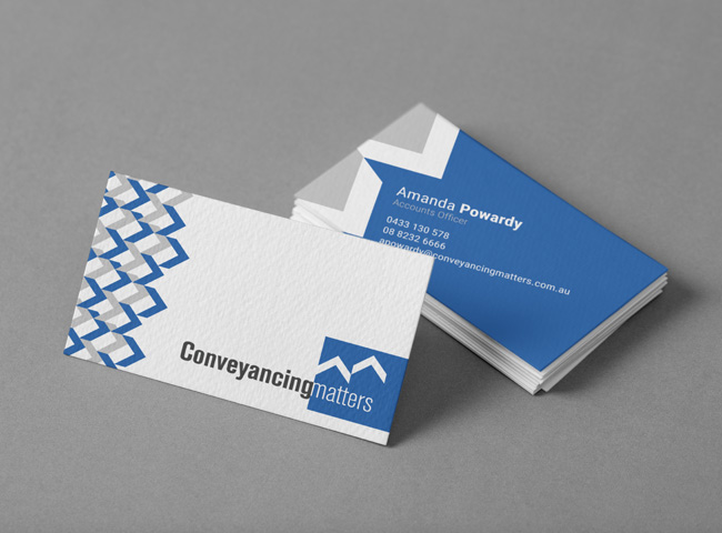 Conveyancing Matters - business card design