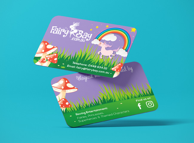 Fairy Bay - business card design