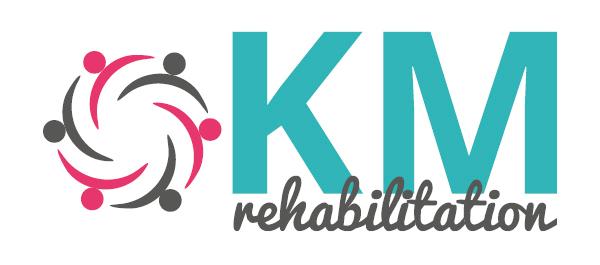 KM Rehabilitation - logo design