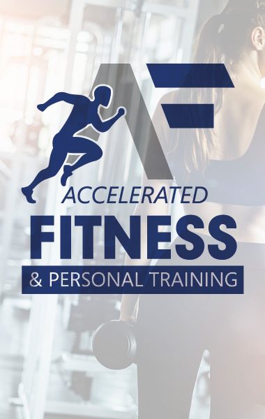 Accelerated Fitness & Personal Training - logo design