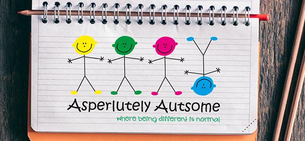 Asperlutely Autsome - logo design