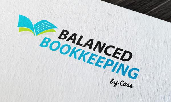 Balanced Bookkeeping - logo design