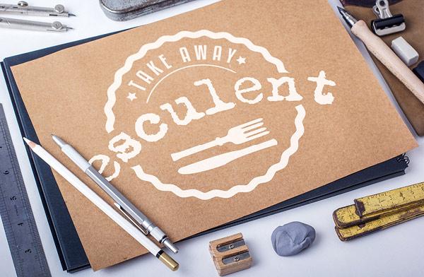 esculent take away logo