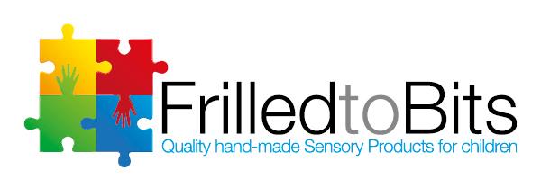 Frilled to Bits - Sensory Products - logo design