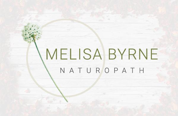 Melisa Byrne Naturopath - logo design