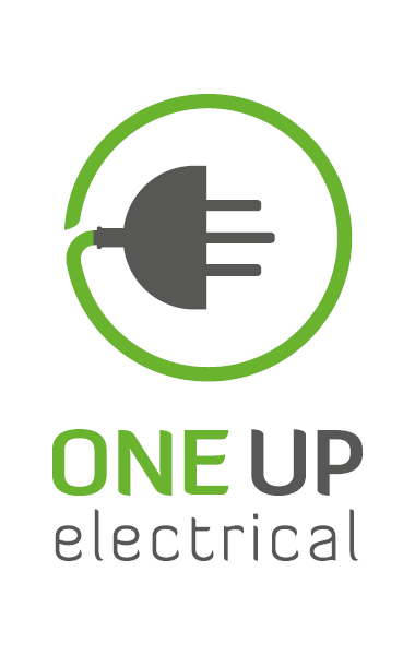 One Up Electrical - logo design