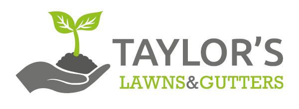 Taylor's Lawns & Gutters - logo design