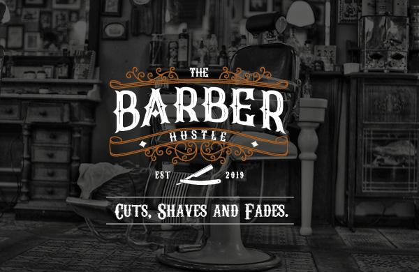 The Barber Hustle - logo design