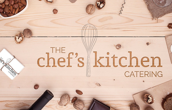 The Chef's Kitchen Catering - logo design