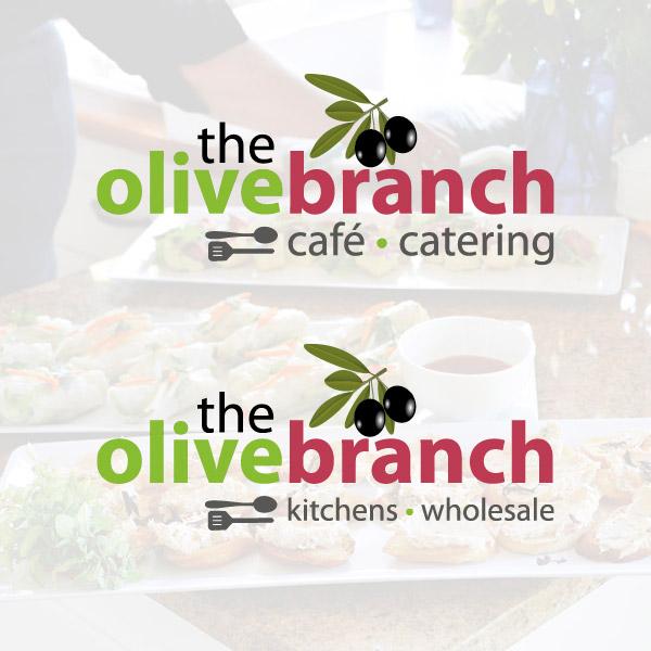 The Olive Branch Cafe - logo design