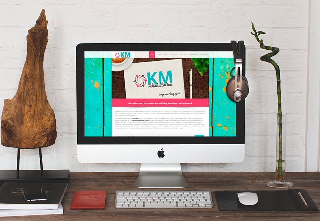 KM Rehabilitation - website design