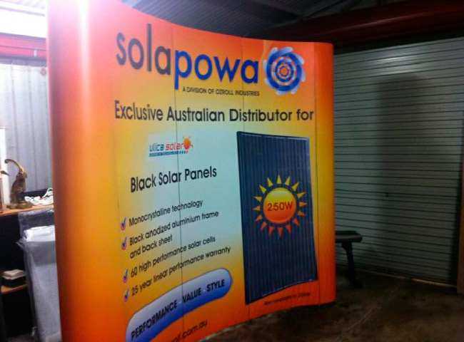 Expo stand for Solapowa