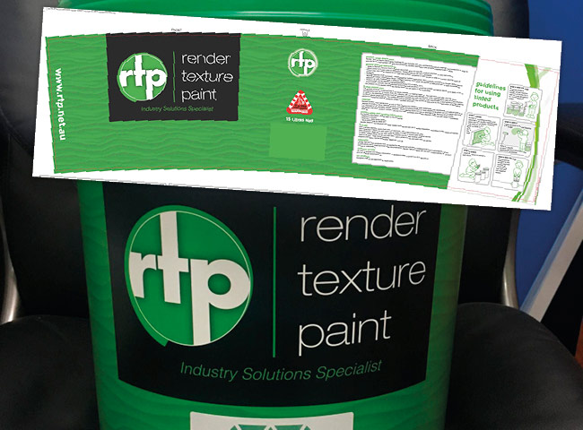 Pail design for Render Texture Paint