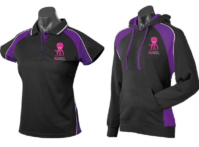 Polo Shirt and Hoodies for JW Support Services