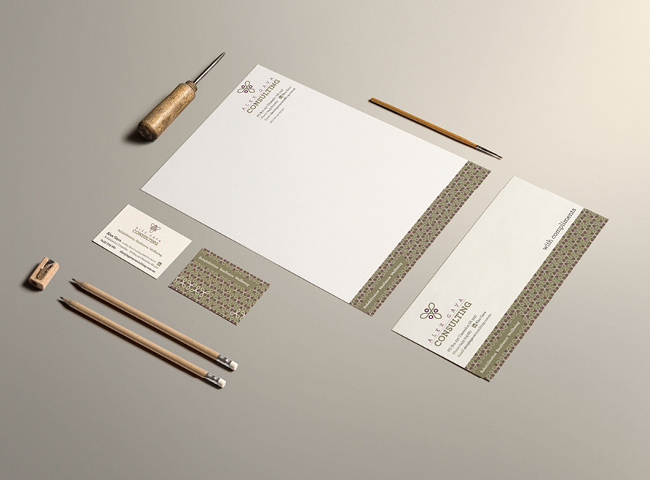 Alex Gava Consultancy - stationery design