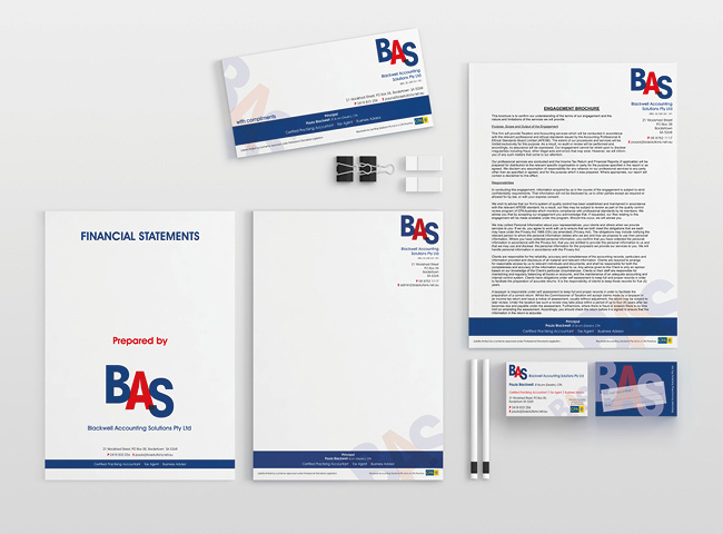 Blackwell Accounting Solutions - stationery design