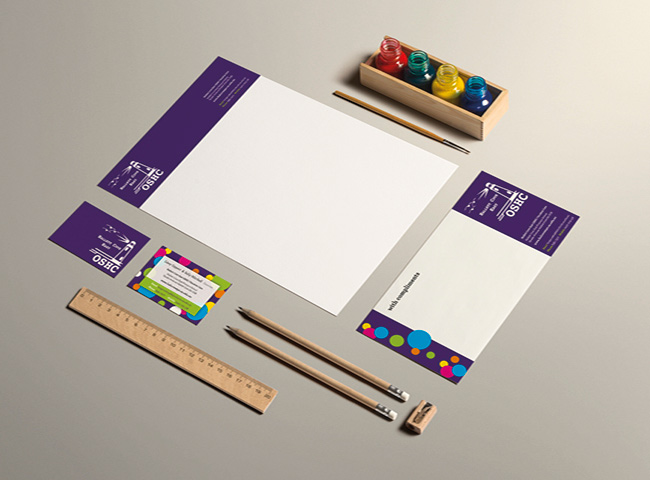 Hallett Cove East OSHC - stationery design