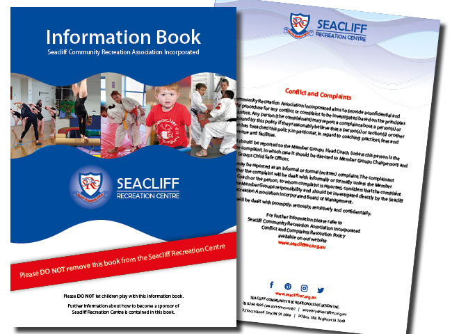 A5 Information Book for Seacliff Recreation Centre