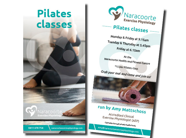 DL flyer for Naracoorte Exercise Physiology