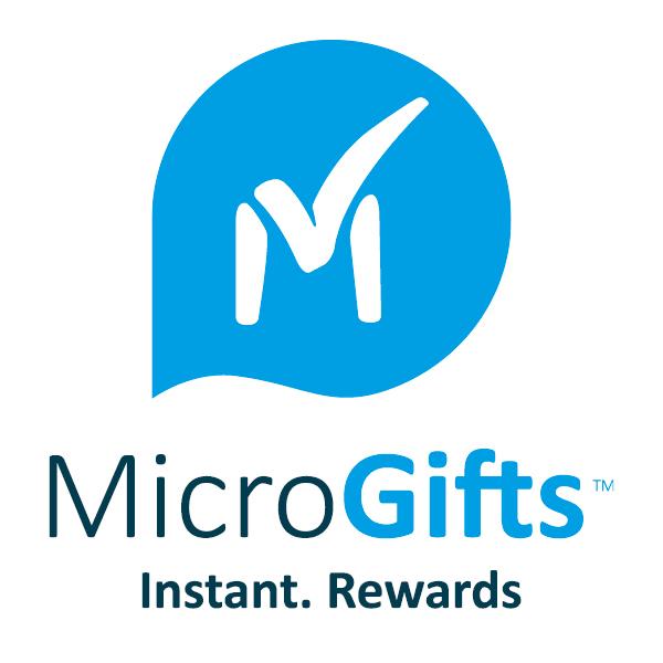 MicroGifts Instant Rewards - logo design