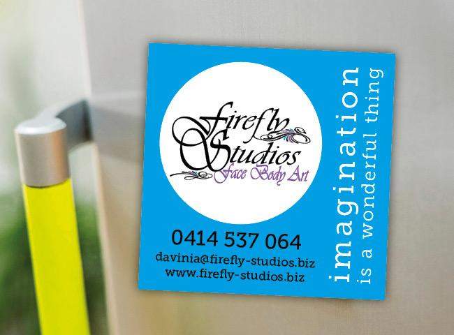 Fridge magnet for Firefly Studios