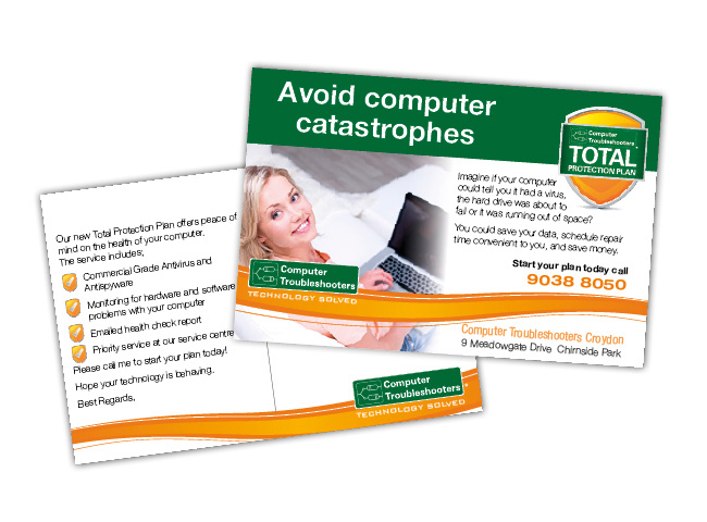 Postcards for Computer Troubleshooters Croydon