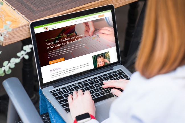 Nicky Lucy Autism Consultant - website design